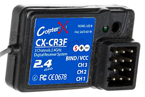 CopterX CR3F Receiver