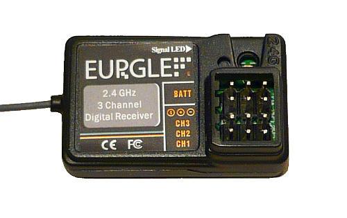 Eurgle přijímač (FS-GR3C)