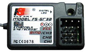 Flysky FS-GT3A 3ch Receiver